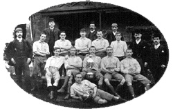 Clitheroe FC 1893 - Lancashire Junior Cup winners (Photo courtesy of Pye's of Clitheroe)